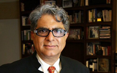 On the Red Couch with Author and Physician Deepak Chopra