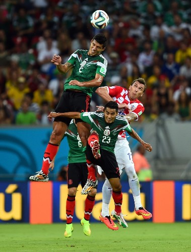 Brazil and Mexico Get Through in Pictures