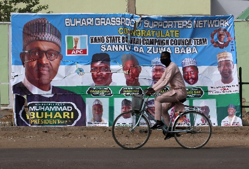 Army to be 'ruthless' against tampering in Nigeria's postponed vote: Buhari