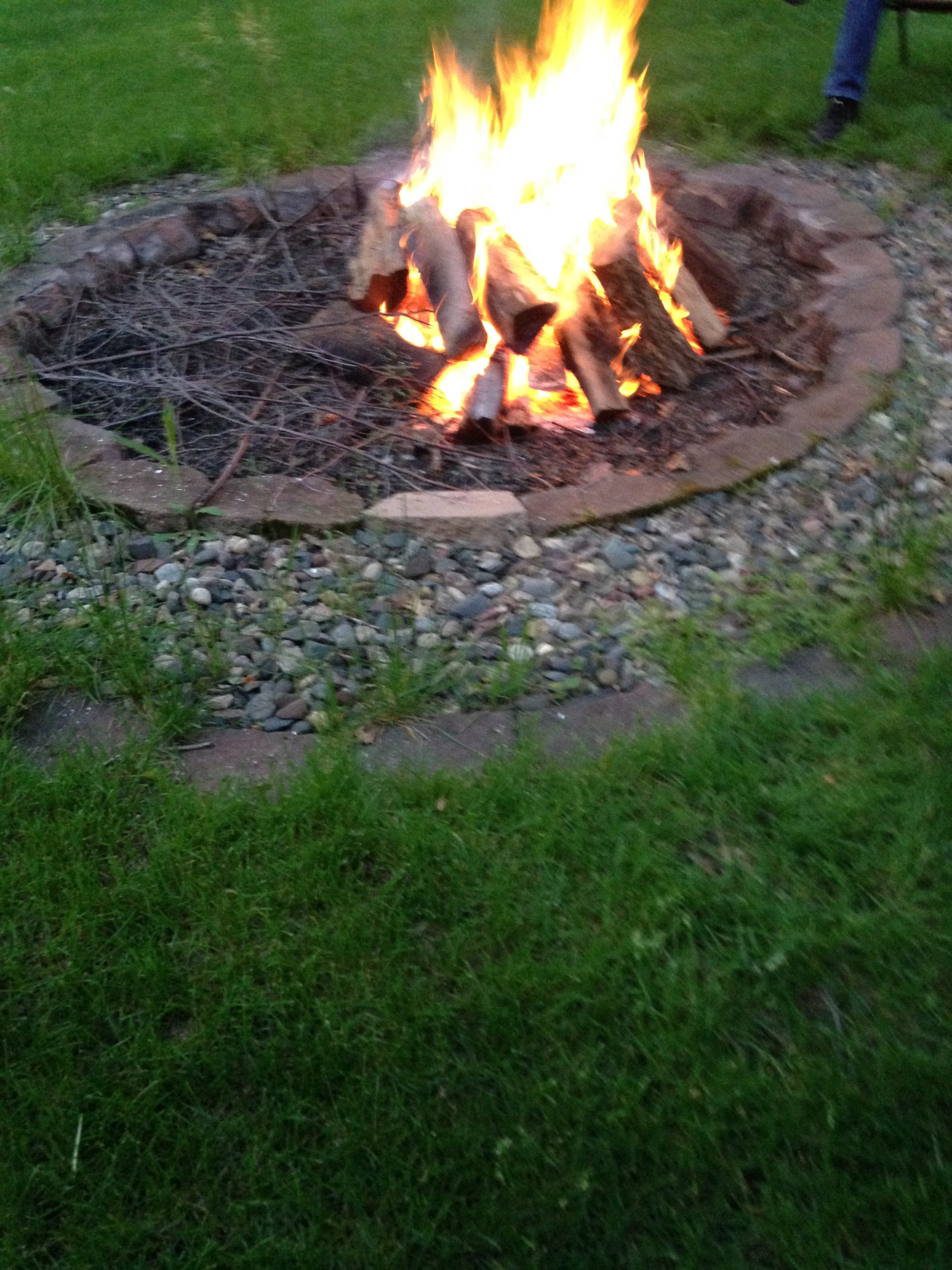 What a fire!!!