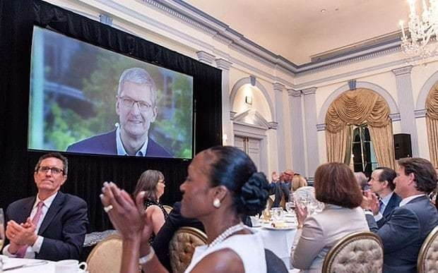 Tim Cook attacks tech rivals that mine and sell personal data