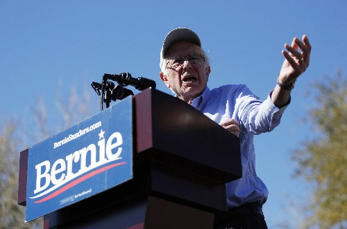 Sanders aims for strong showing in delegate-rich California
