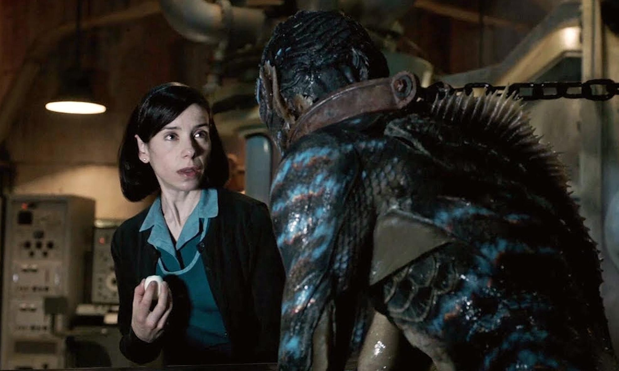 The Shape of Water wins best picture at Oscars 2018