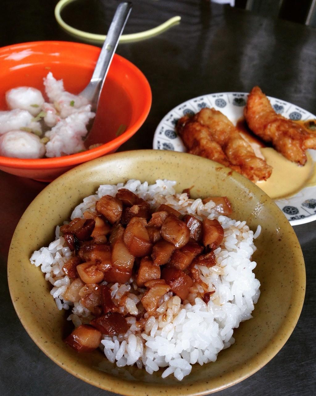 迪化街 金仙滷肉飯