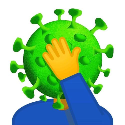 Coronavirus facepalm - cover