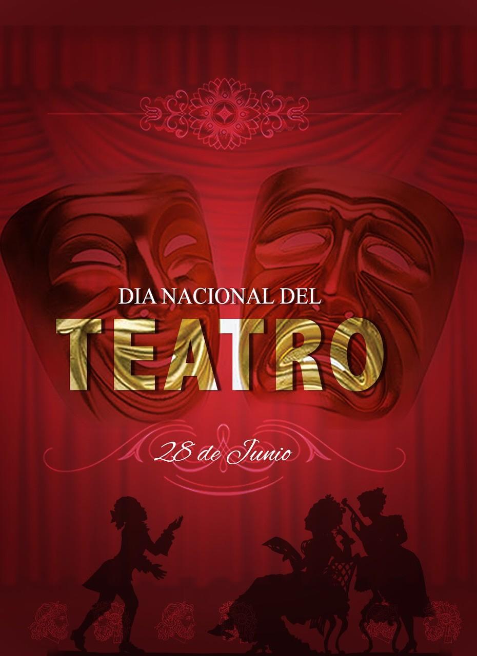 "#DiseñoGrafico #rrpccsdigital ""Dia Nacional del Teatro"""