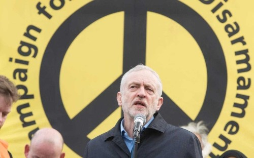 Jeremy Corbyn called for Nato to be closed down and members to 'give up, go home and go away'