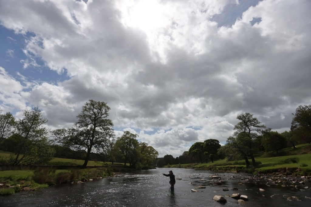 As UK Lockdown Eases, Fly Fishing Returns: Pictures