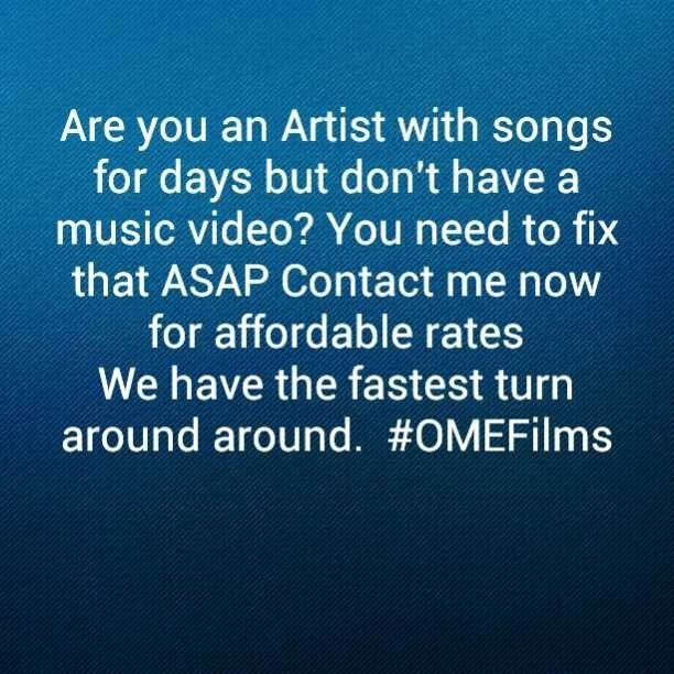Contact me Now! For my weekend special! What's your budget? I can accommodate. . #OMEFilms