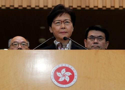 Hong Kong, continuano proteste, per leader Lam sovranità Cina in pericolo