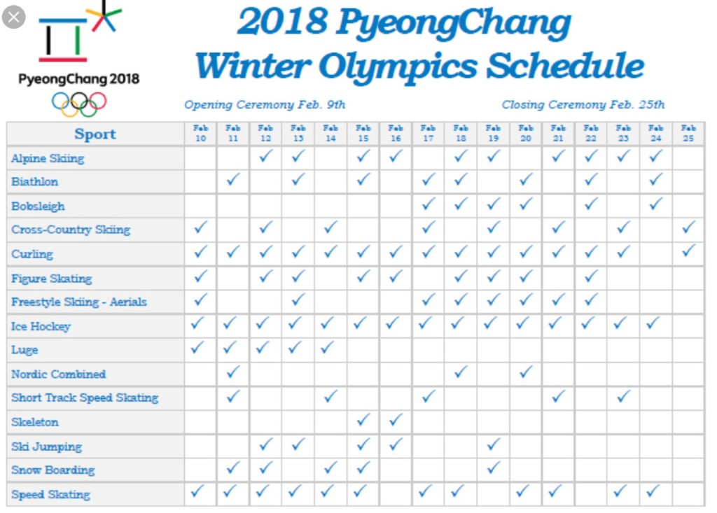 2018 Olympics In Pyeong Chang! - Magazine cover