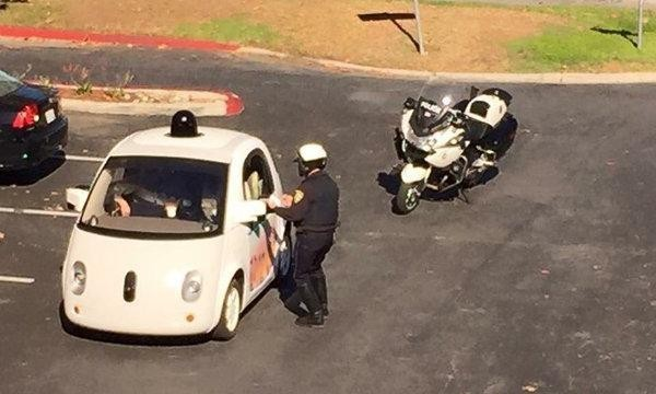 Google's self-driving car gets pulled over for driving too slowly