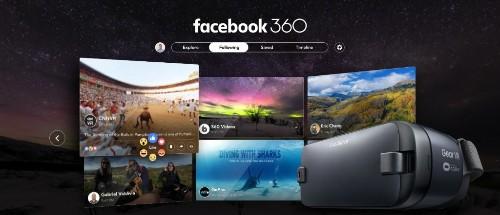 Facebook debuts its first dedicated virtual reality app, Facebook 360