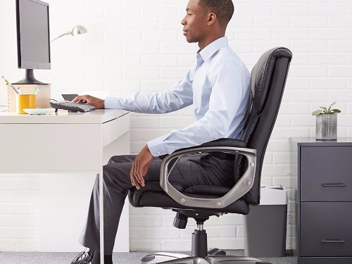 This desk chair has helped me become a lot more productive at home