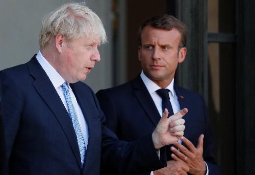 Encouraged by Merkel, UK's Johnson tells Macron: I want a Brexit deal