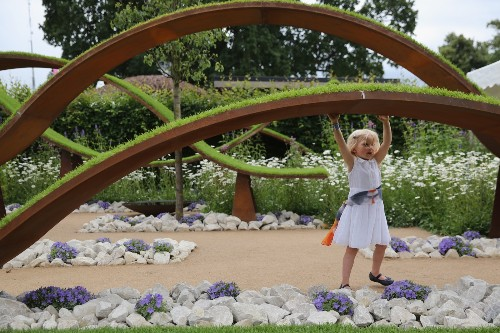 Preview of Hampton Court Palace Flower Show: Pictures