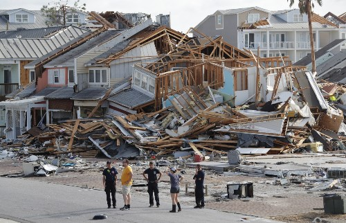 The Swath of Destruction from Hurricane Michael: Pictures