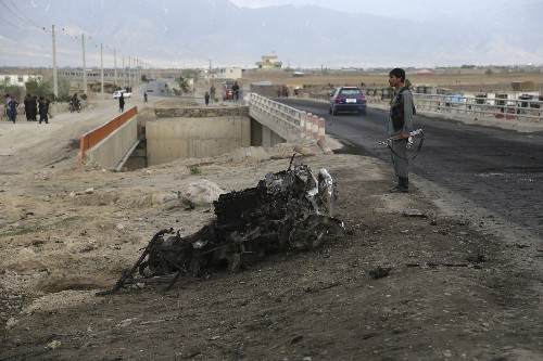 US forces: 3 Marines killed, Afghan contractor wounded