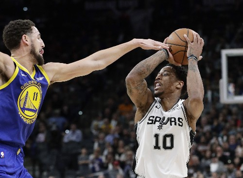 Spurs extend streak to 9 straight, beat Warriors 111-105