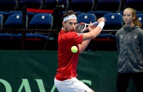 Thiem loses but Novak propels Austria to Davis Cup win