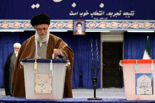 Iranians vote in election, hardliners set to dominate