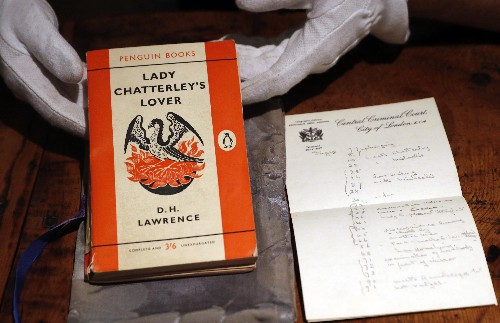 'Lady Chatterley' copy from famous trial sells for $72,000