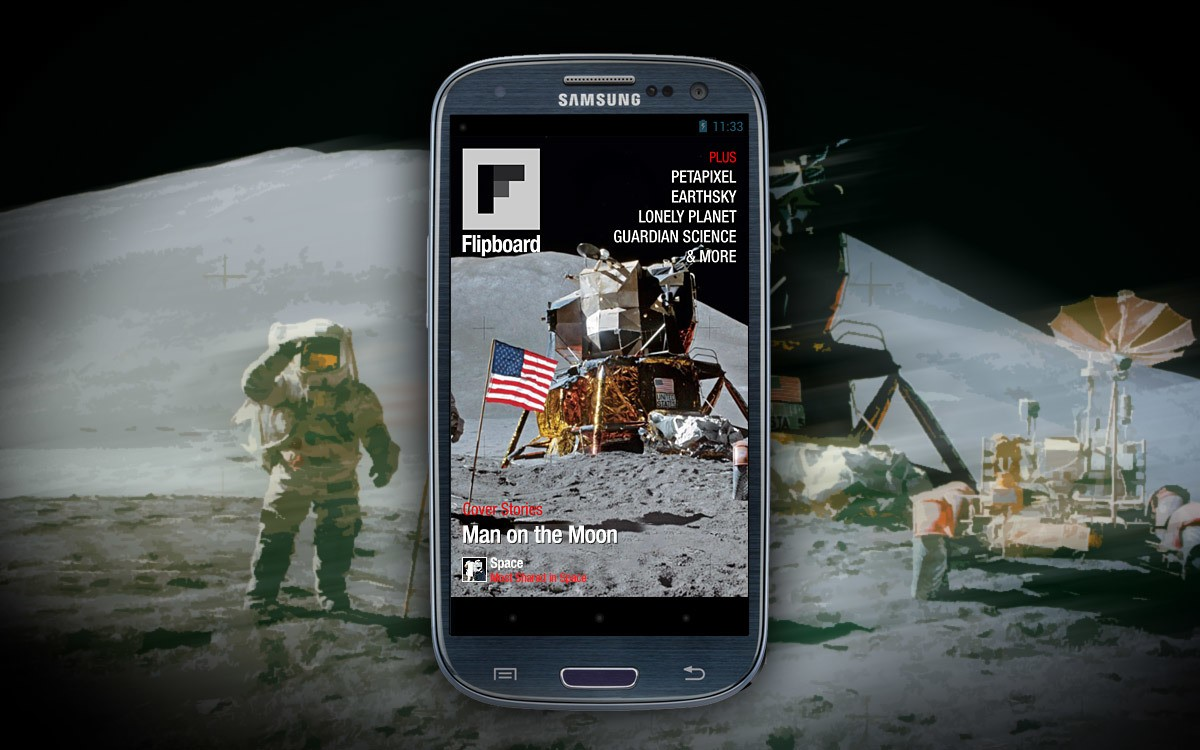 Flipboard Daydream Now on Android 4.2