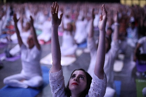 Yoga linked to lowered blood pressure with regular practice
