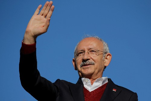 Turkish opposition leader safe after attack at soldier's funeral