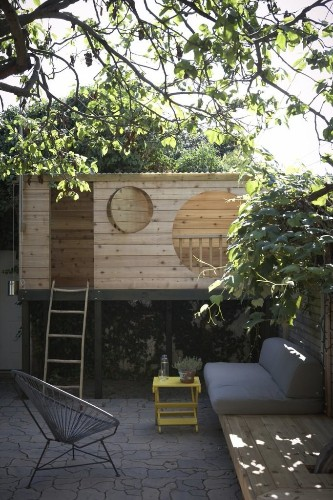 Steal This Look: A Backyard Tree Fort