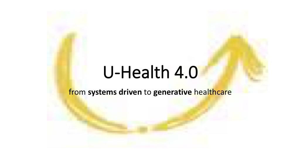 U-Health 4.0 inspirational articles - Magazine cover