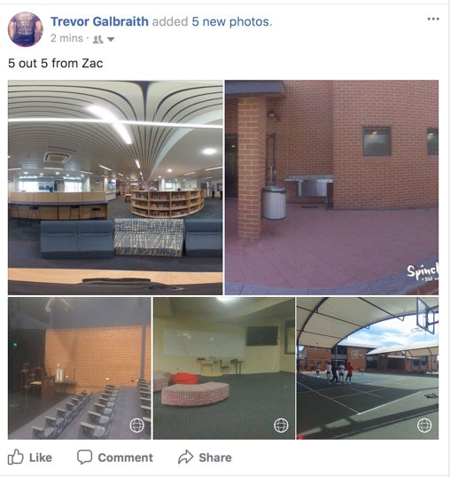 Proof of my vr photos on Facebook
