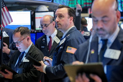 Tech stocks drag Wall Street lower at open