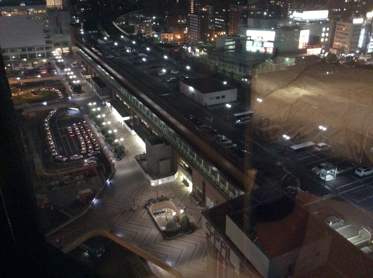 JR仙台ホテルから見た仙台駅