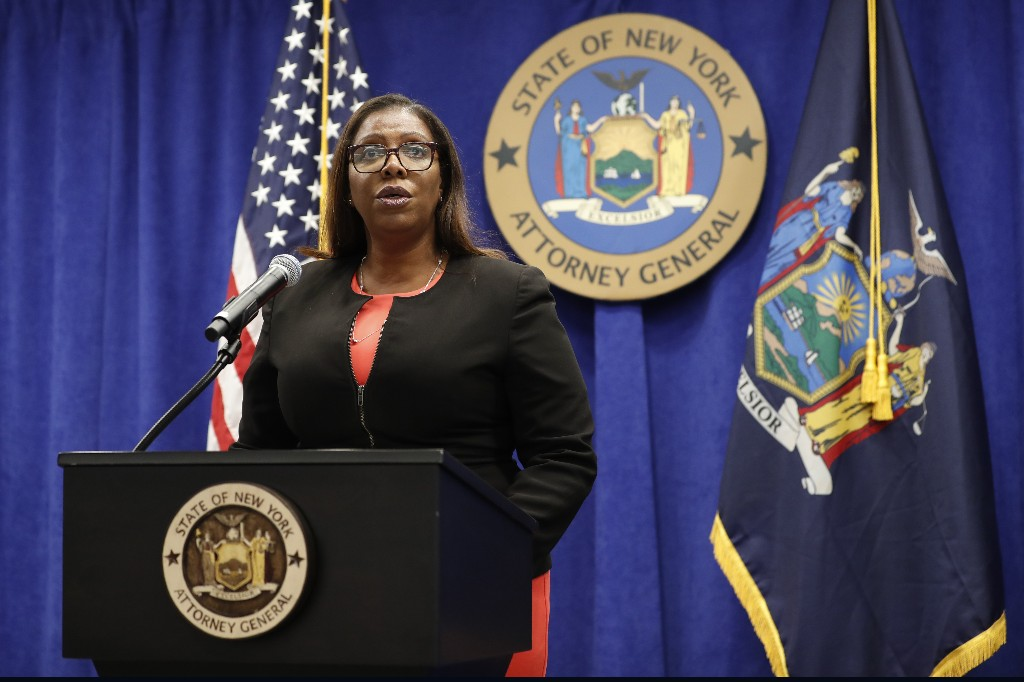 New York attorney general seeks to dissolve NRA
