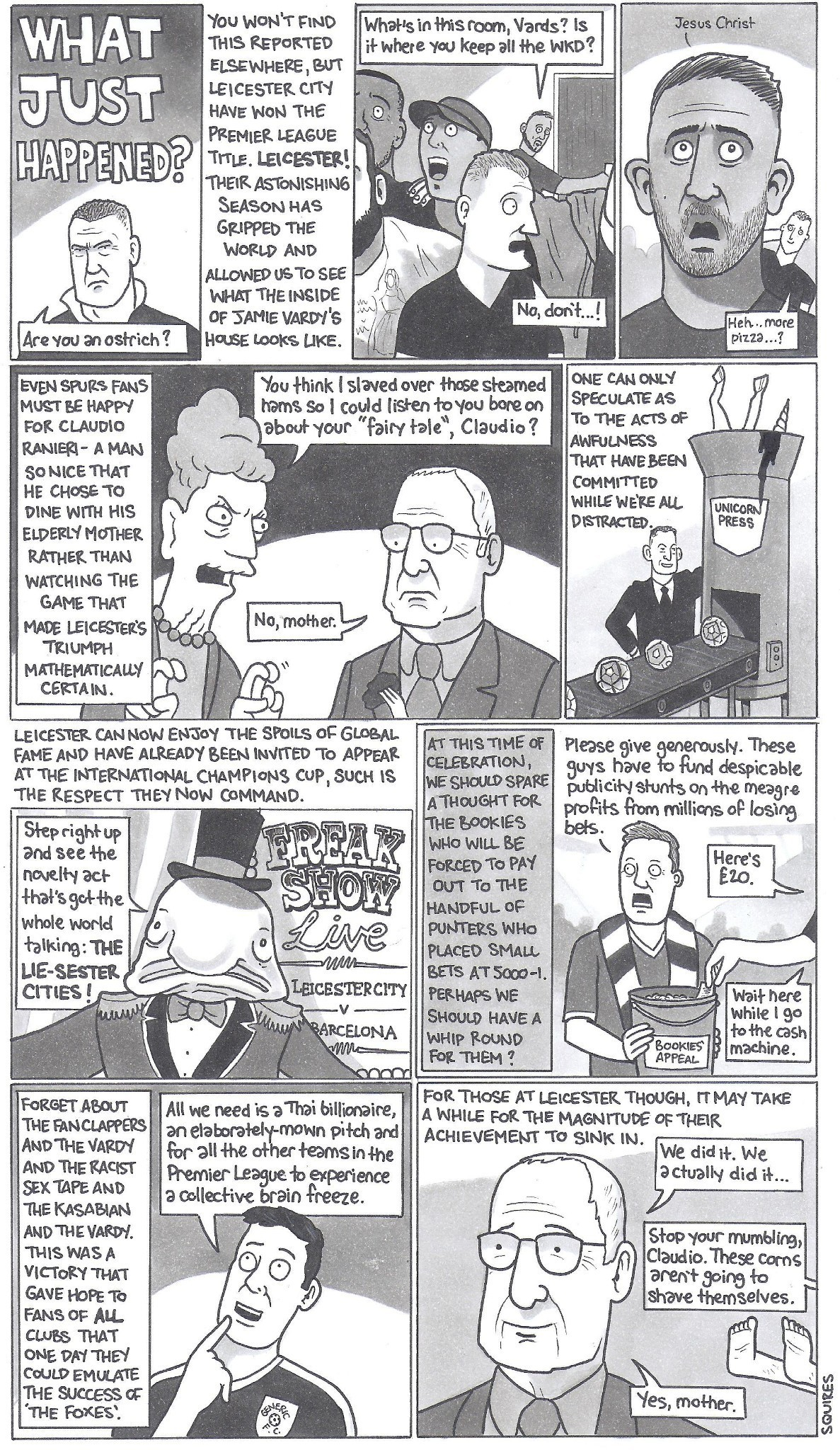 David Squires on … Leicester City winning the Premier League