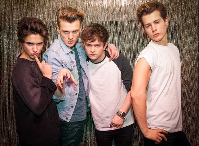 The Vamps - Magazine cover
