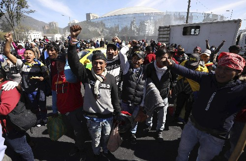 Ecuador crisis weakens president, strengthens indigenous