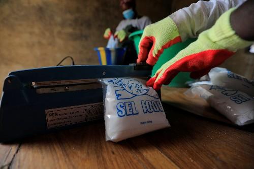 Senegal's Salt Queen tastes success in a man's world
