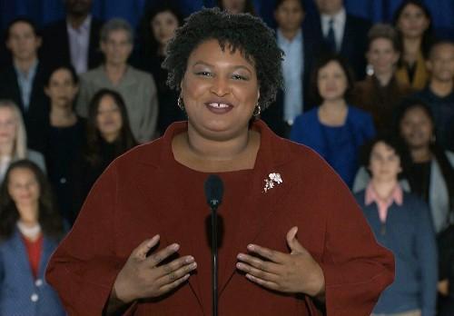 Georgia Democrat Stacey Abrams talks 2020, voter suppression