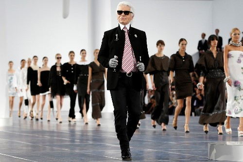 Karl Lagerfeld: A Life in Pictures