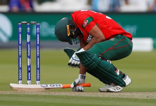 Cricket: Bangladesh captain bids farewell to World Cup with praise for mighty Shakib