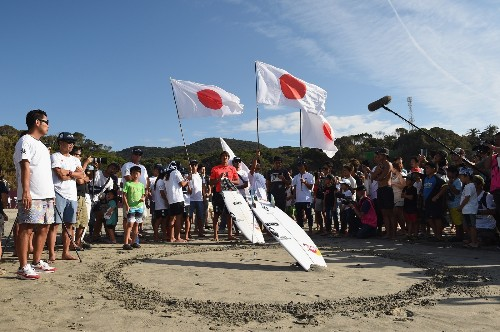 Surf's Up in Japan: Pictures