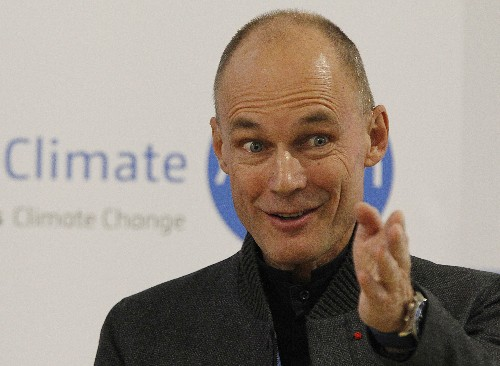 The Latest: Swiss solar expert backs ideas to save planet