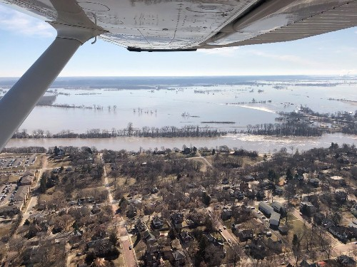 More floods loom as high river waters recede in U.S. Midwest