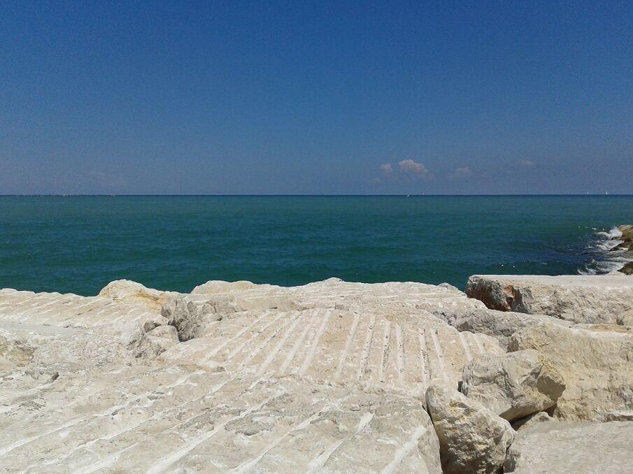 At the seaside, Rimini