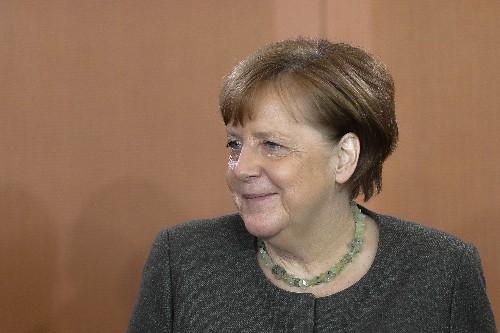 Merkel: Ukraine vote gives leader Zelenskiy 'strong mandate'