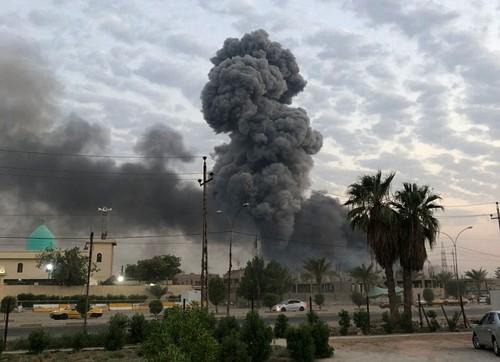 Milicias pro-Irán culpan a EEUU por ataques en Irak