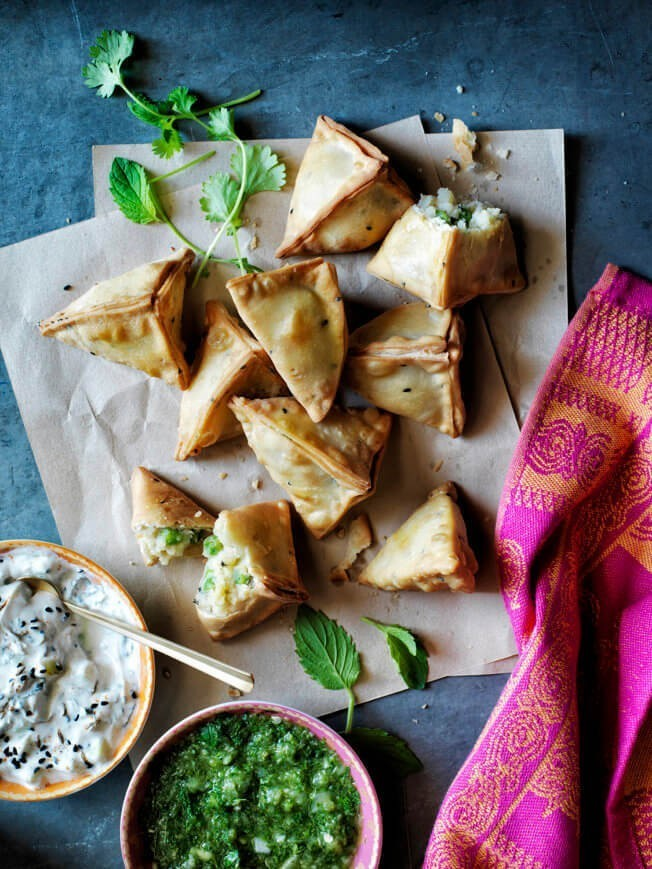 How to Fold Samosas in a Triangle | Williams-Sonoma Taste