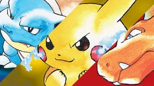 This could be my favorite three way battle EVER! Blastoise, Pikachu, and Charizard!
